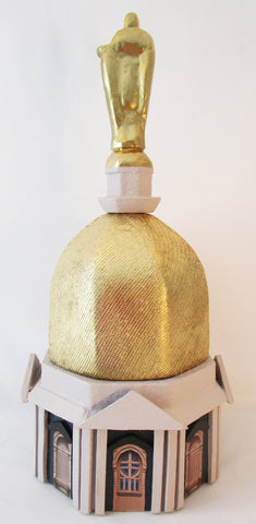 Golden Dome Table Centerpiece