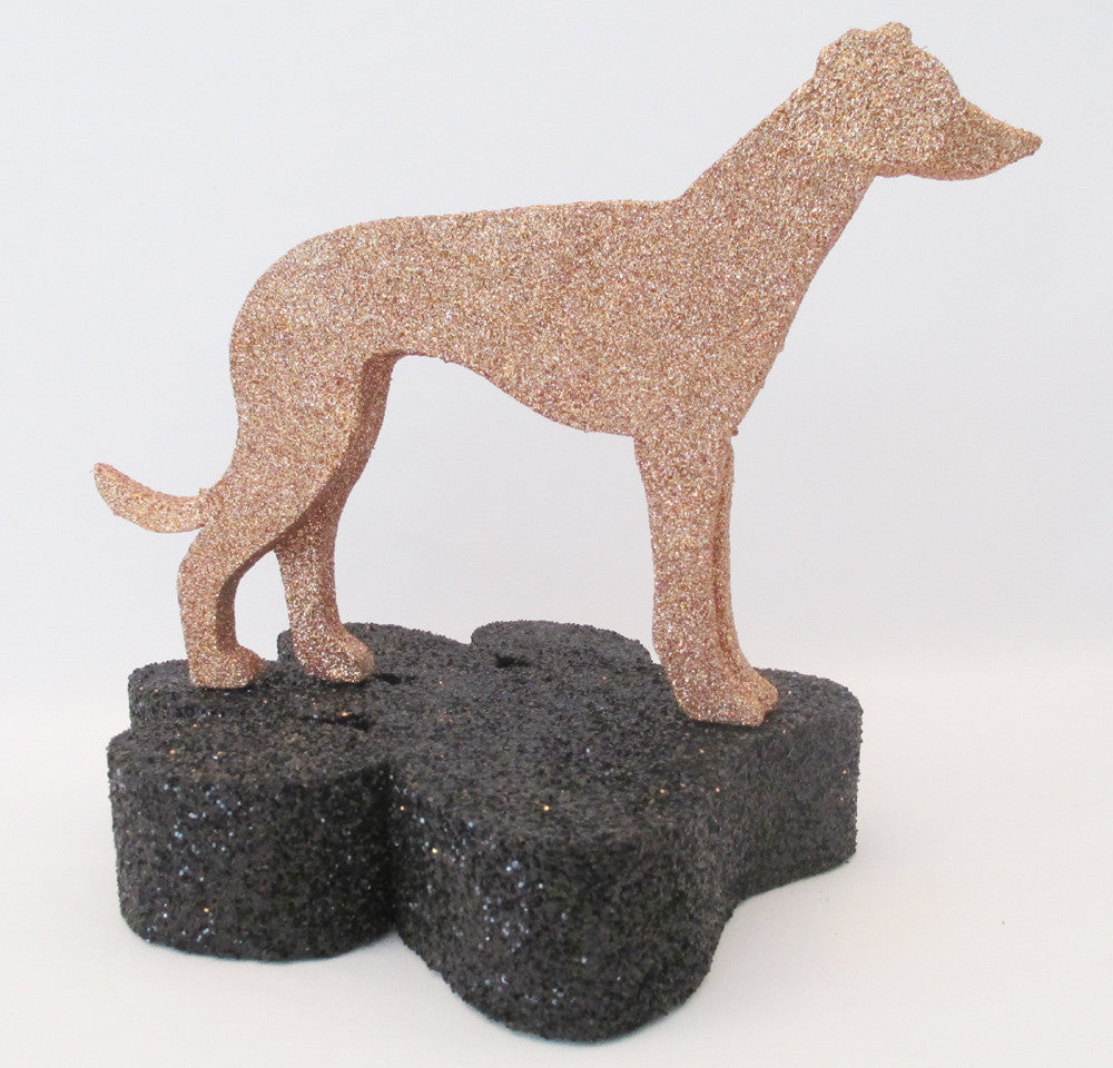 Greyhound Dog Centerpiece