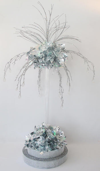 Festive Holiday or Winter Table Centerpiece