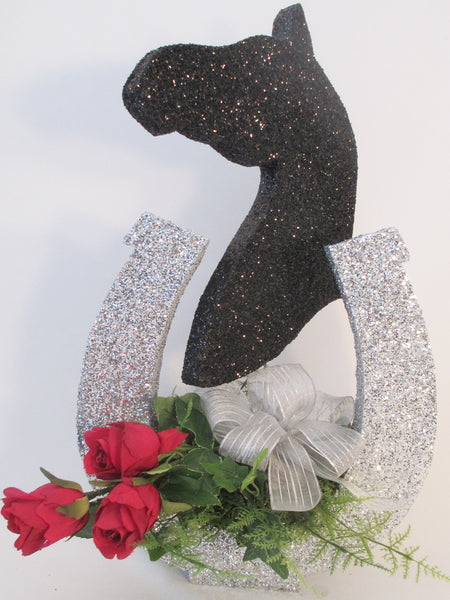 Horse-head and Horse-shoe Centerpiece