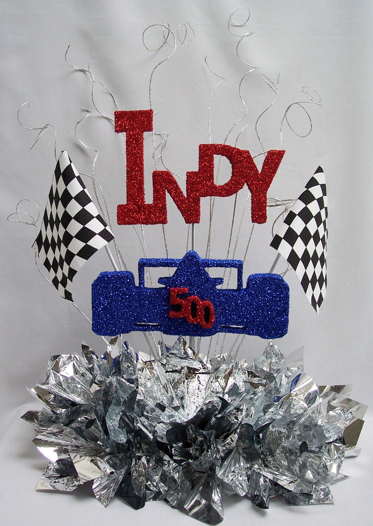 Indy 500 table centerpiece