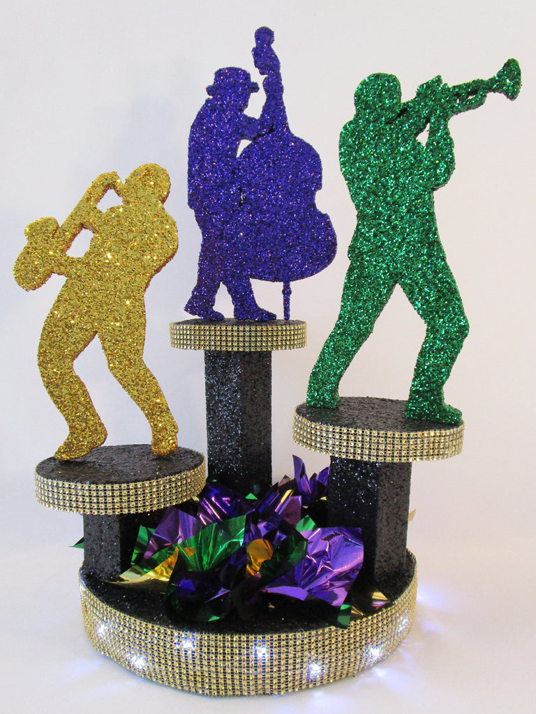 Jazz Musicians Centerpiece