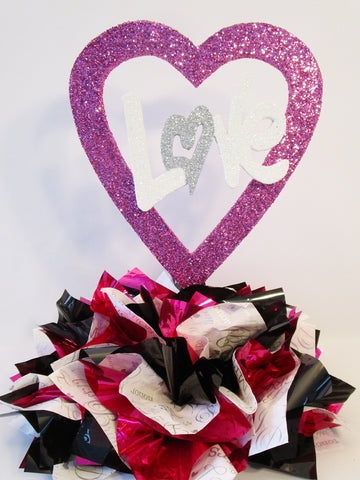Open Heart Cutouts and Centerpieces