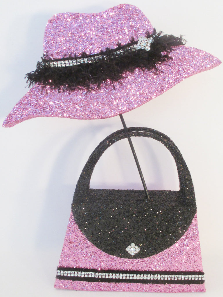 Hat & Purse Centerpiece