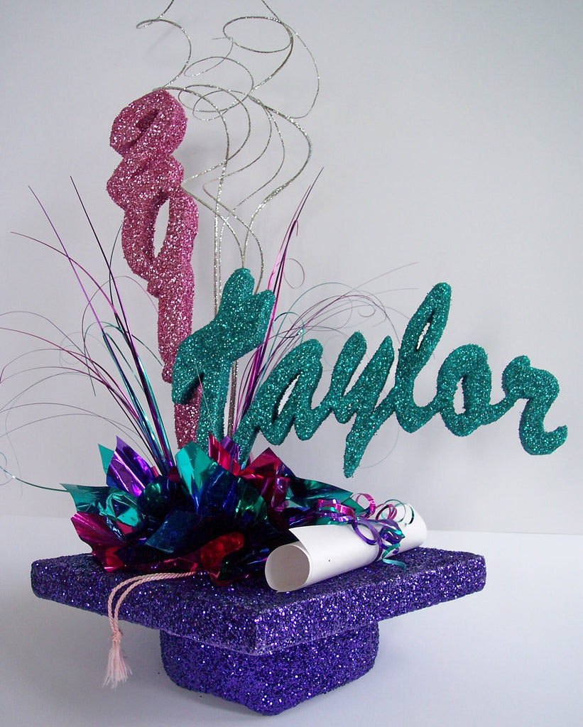 Unique graduation centerpieces