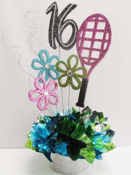Tennis-Racket-16 or Graduation Centerpeice