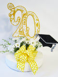 2020 graduation centerpiece Designs by Ginny