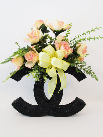 Chanel floral centerpiece - Designs by Ginny