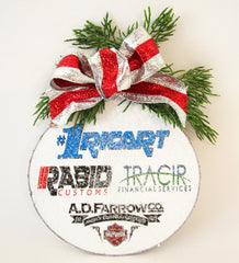 custom Holiday Ornament - Designs by Ginny