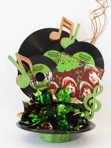 Beatles - Rubber Soul centerpiece - Designs by Ginny