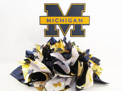 University of Michigan centerpiece - Designs by Ginny