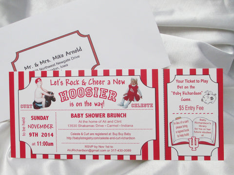 Baby shower Invite - Designs by Ginny
