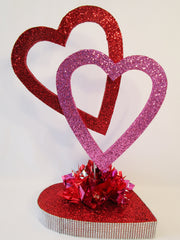 open heart centerpiece - Designs by Ginny