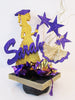 Grad silhouette graduation centerpiece - Designs by Ginny