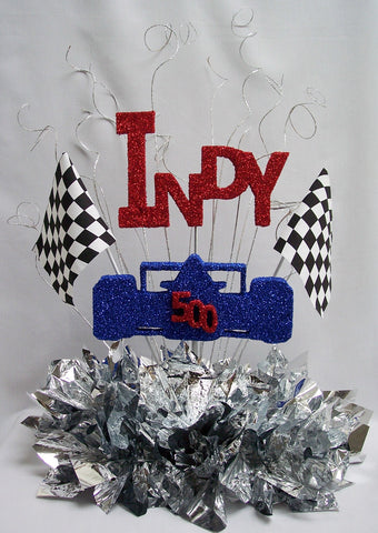 Indy 500 Table Centerpiece Designs By Ginny