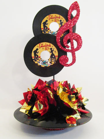 Musical note centerpiece - Designs by Ginny