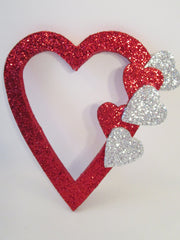 open heart with small hearts - Designs by Ginny