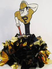 Purdue Boilermakers centerpiece - Designs by Ginny