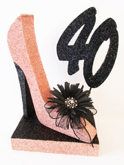 stiletto high heel shoe with 40 - Designs by Ginny
