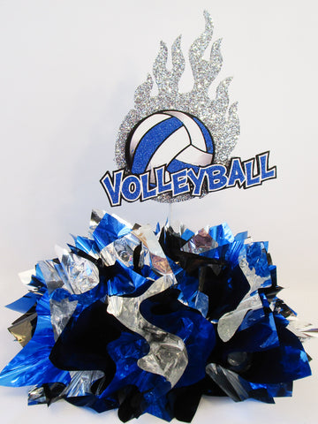 Volleyball themed centerpiece - Designs by Ginny