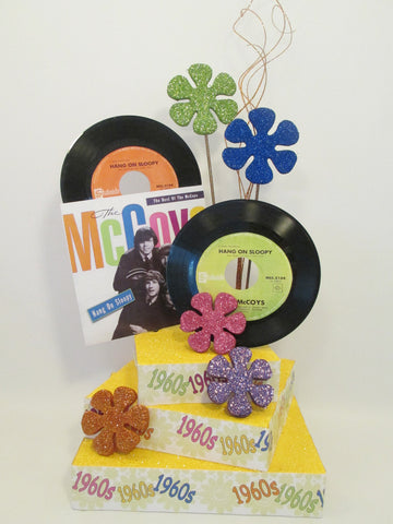 1960's themed centerpiece - Designs by Ginny