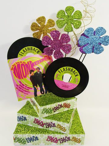 1960's themed centerpiece - Monkees