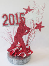 Load image into Gallery viewer, baseball player graduation centerpiece - Designs by Ginny