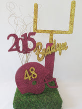 Load image into Gallery viewer, Football themed centerpiece - Designs by Ginny