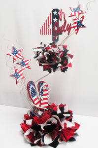 4th of July table centerpiece