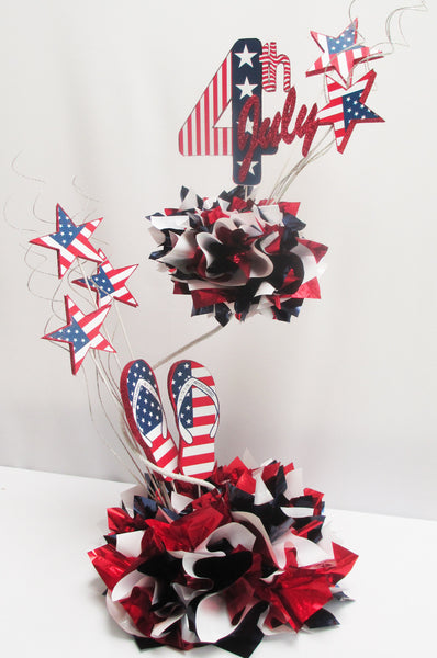 4th of July Patriotic Centerpiece - Designs by Ginny
