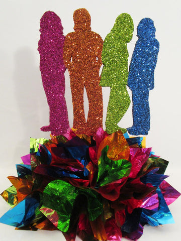 Beatles Centerpiece - Designs by Ginny