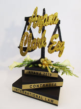Load image into Gallery viewer, Graduation legal centerpiece - Designs by Ginny