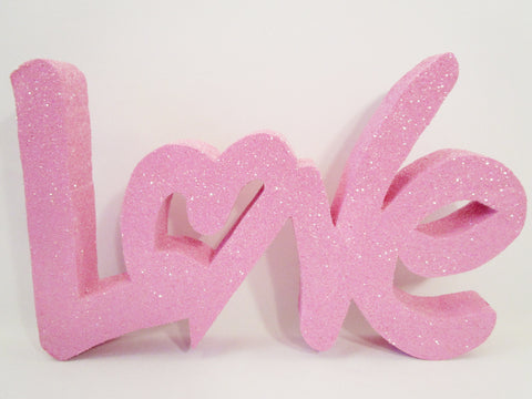 Large Love cutout - Designs by Ginny