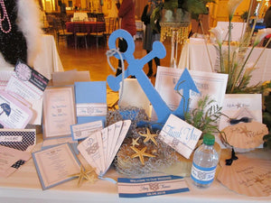 Nautical anchor Centerpiece - Designs by Ginny