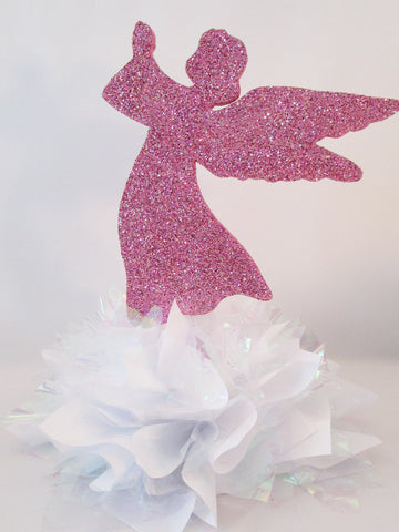 Angel centerpiece - Designs by Ginny
