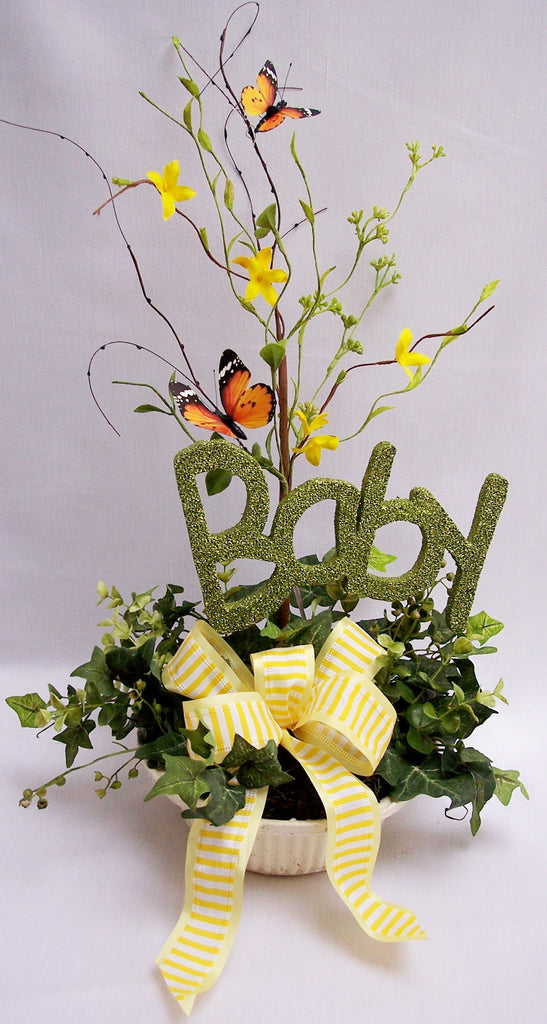 Baby Centerpiece - Designs by Ginny