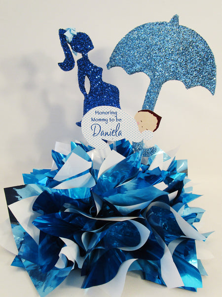 Baby shower centerpiece - Designs by Ginny
