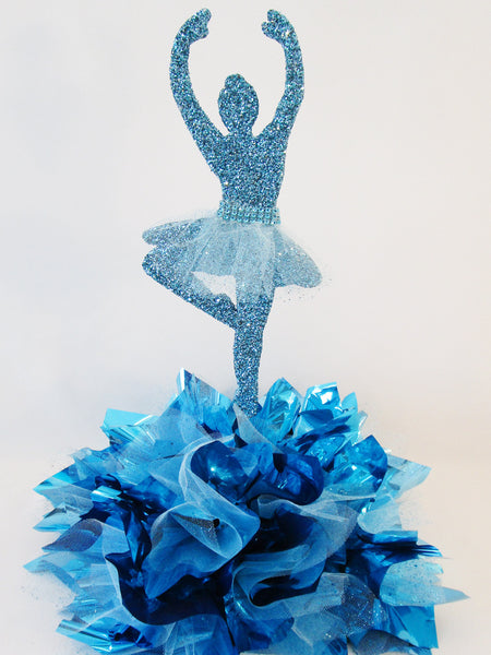 Ballerina styrofoam cutout  centerpiece- Designs by Ginny