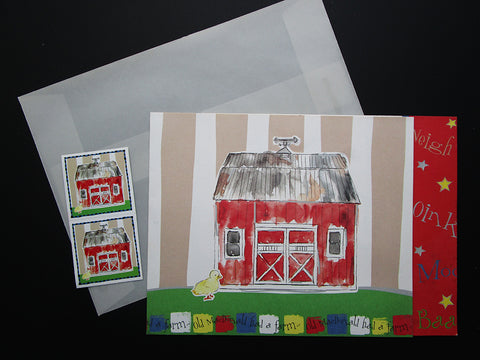 Barn Invite - Designs by Ginny