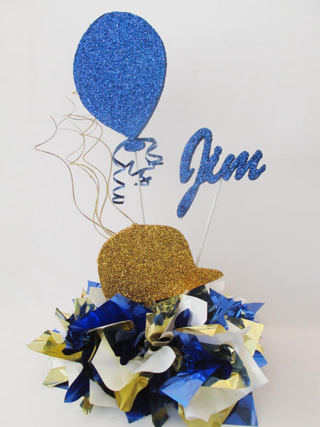 baseball centerpiece - Designs by Ginny