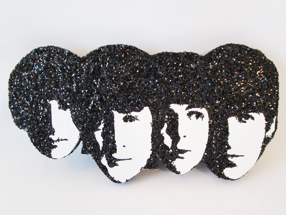 Beatles faces cutout - Designs by Ginny