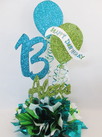 13th or Any Age Birthday Centerpiece