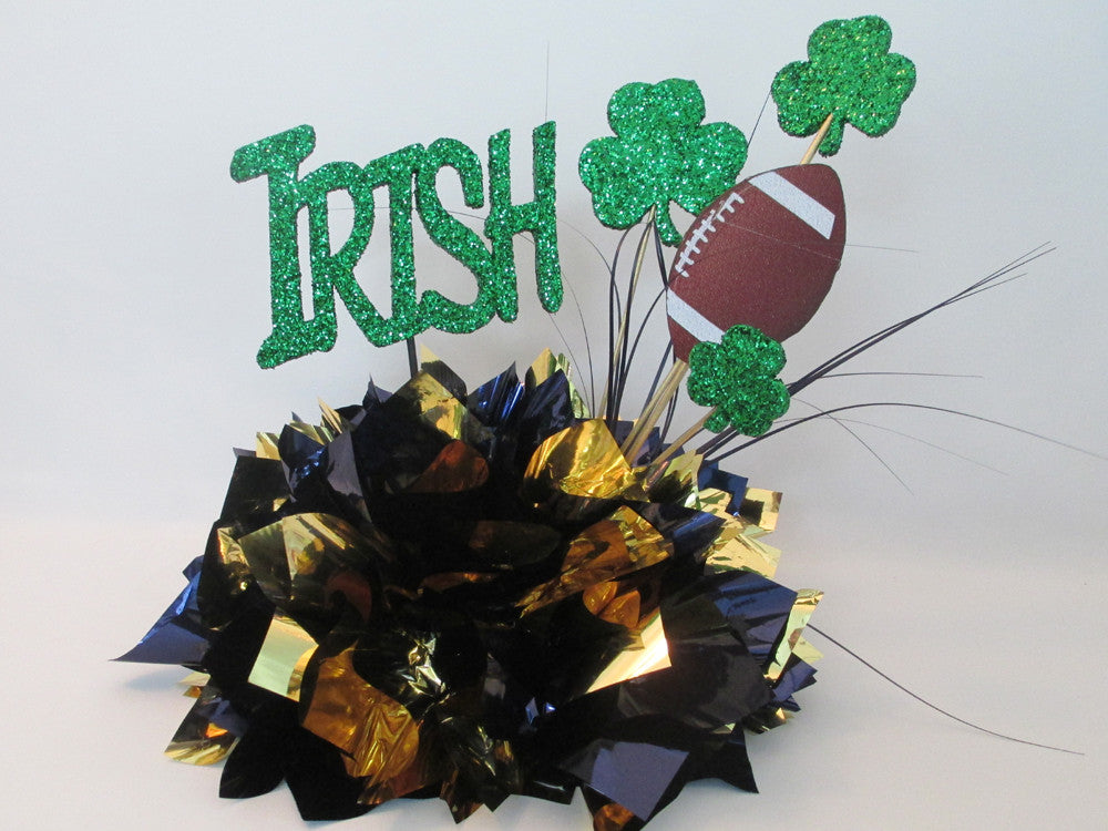 Irish themed table centerpiece - Designs by Ginny