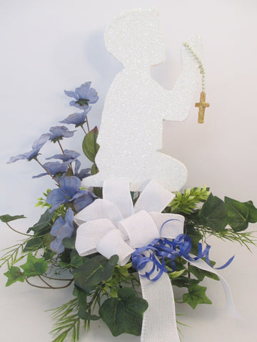 Boy Praying Centerpiece
