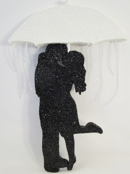 Bridal Shower Couple under umbrella cutout - Designs by Ginny