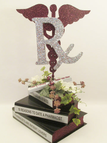 Medical Caduceus Graduation Centerpiece