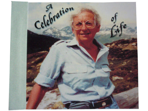 Celebration of Life Memorial booklet - Designs by Ginny
