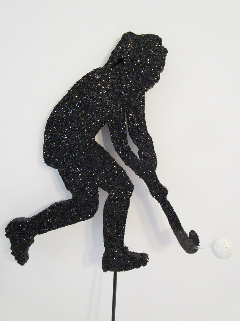Female Field Hockey cutout - Designs by Ginny