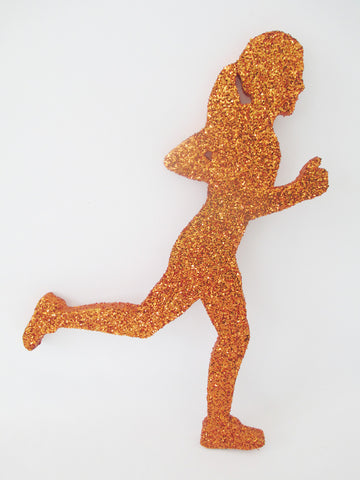 Female Runner Cutout