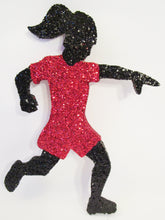 Load image into Gallery viewer, female soccer player cutout - Designs by Ginny